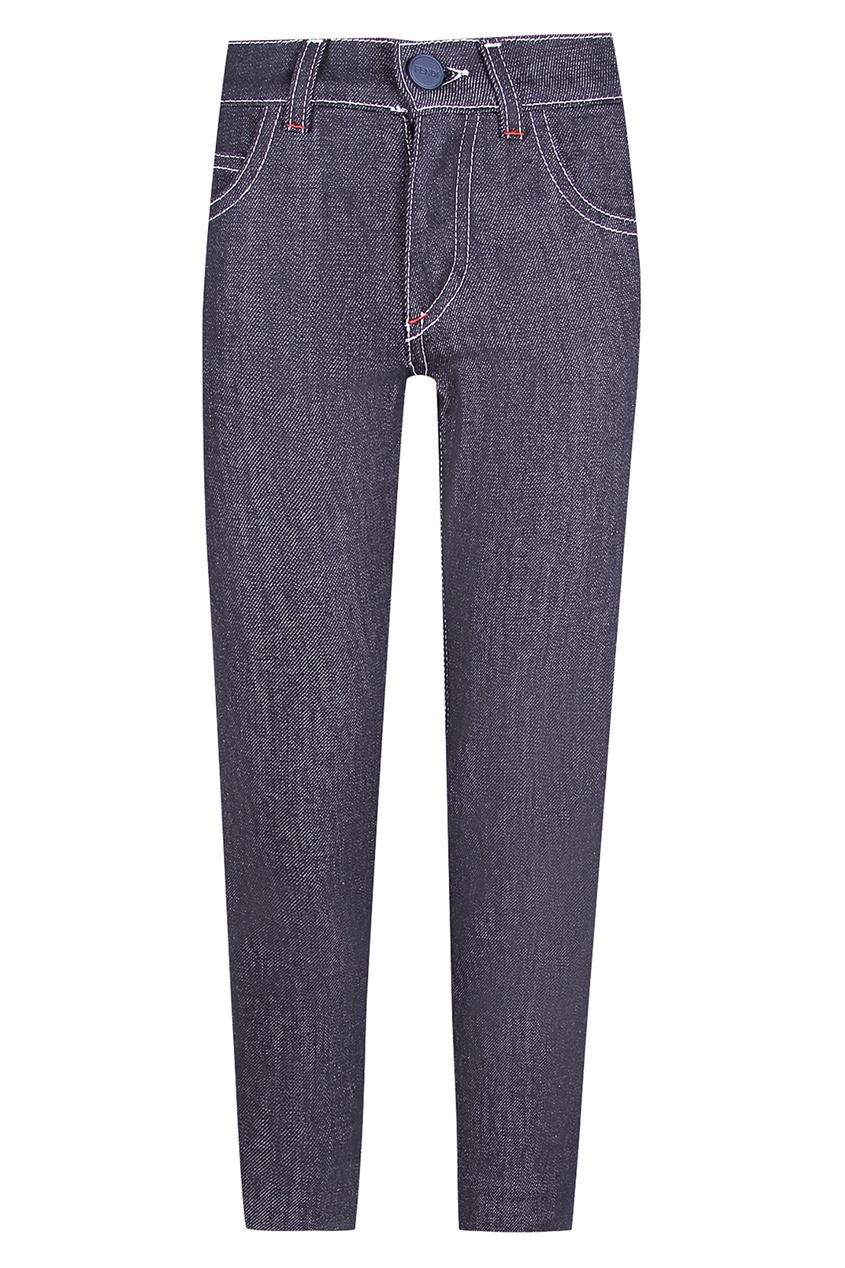 Купить Прямые джинсы от Fendi Kids синего цвета