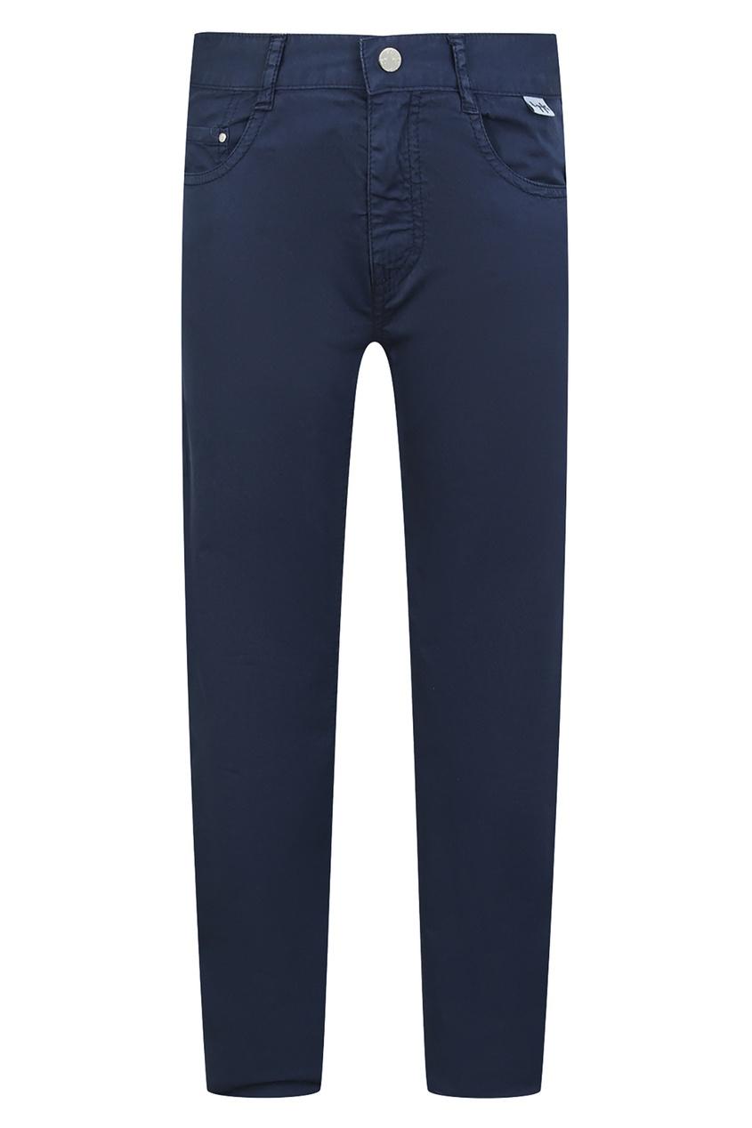 Синие брюки с карманами IL Gufo