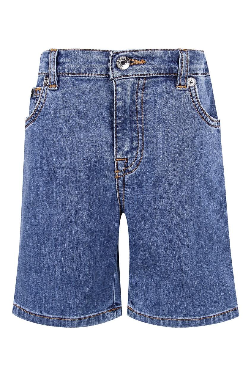 Купить Джинсовые шорты D&G синего цвета