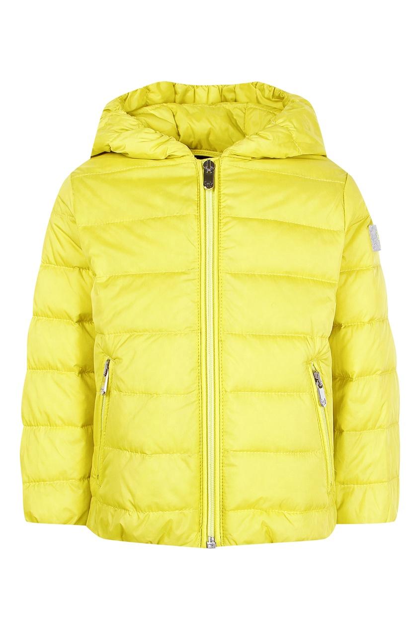 Купить Желтая куртка желтого цвета