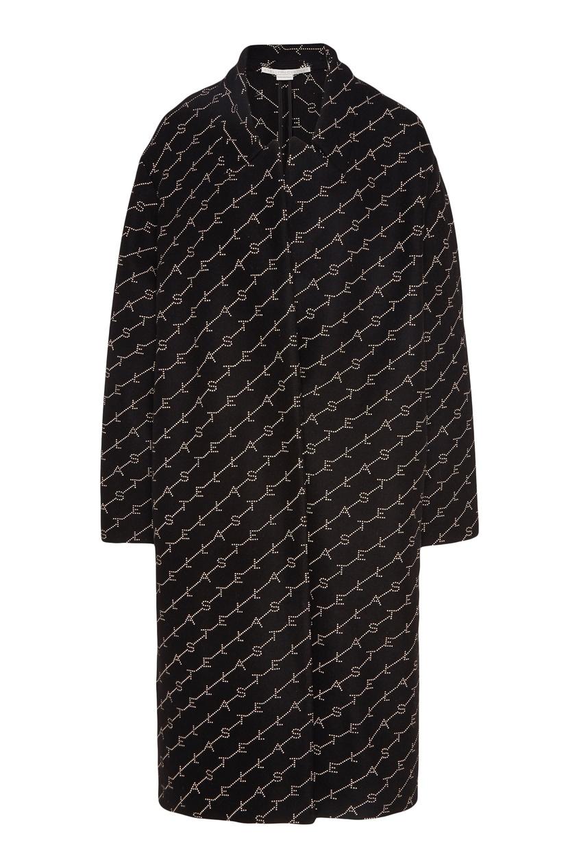 Пальто с логотипами Stella McCartney