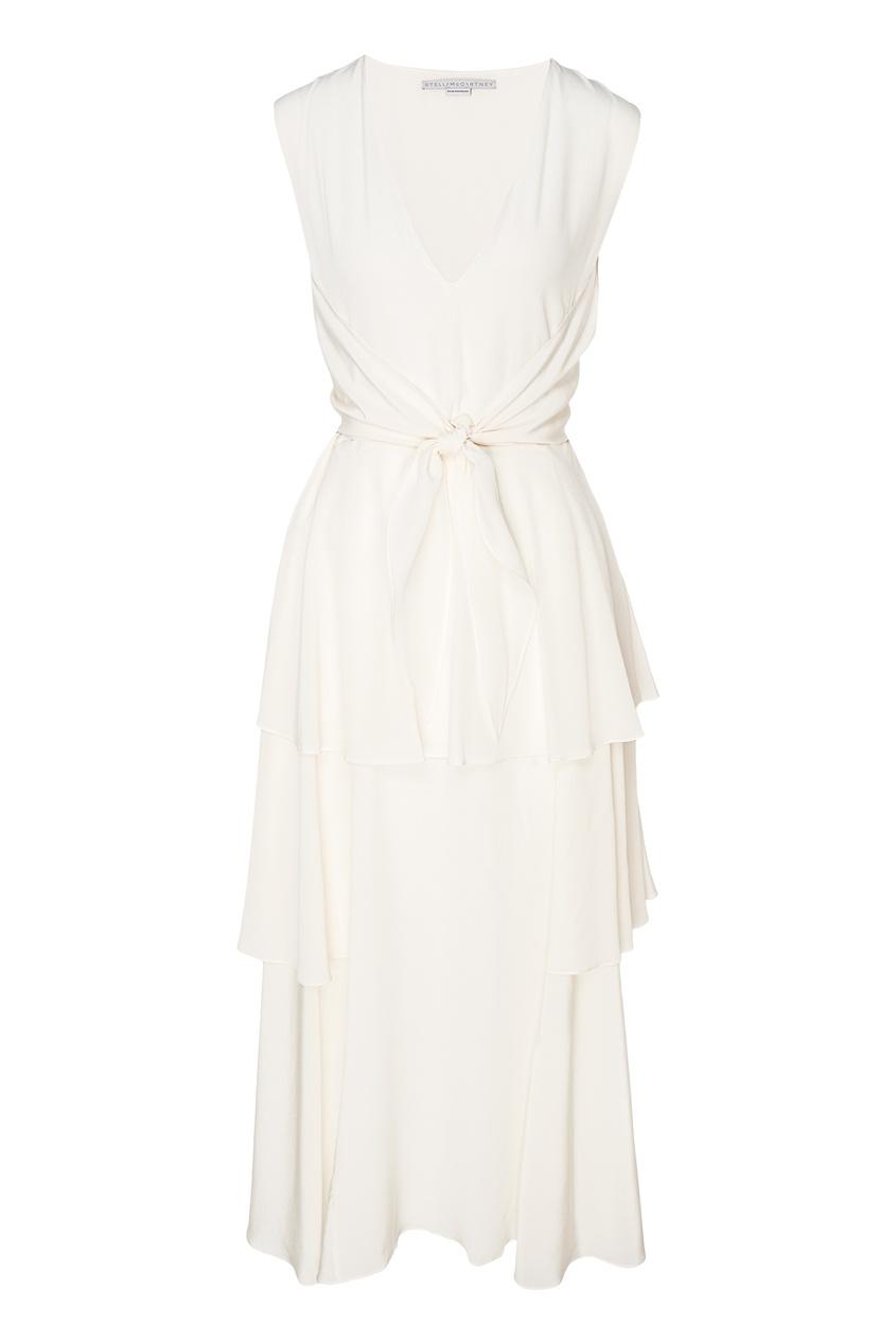 женское платье stella mccartney, белое