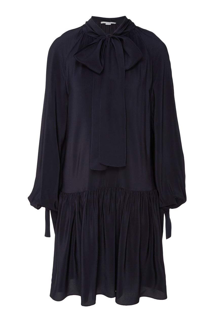 женское платье stella mccartney, синее