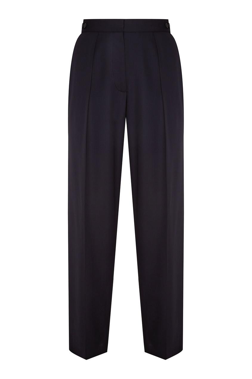 женские брюки stella mccartney, синие