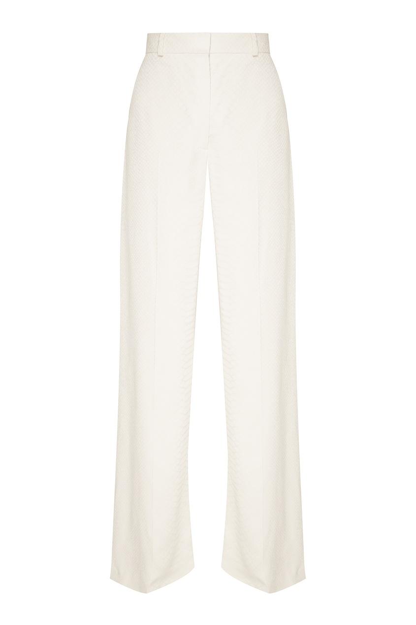 женские брюки stella mccartney, белые