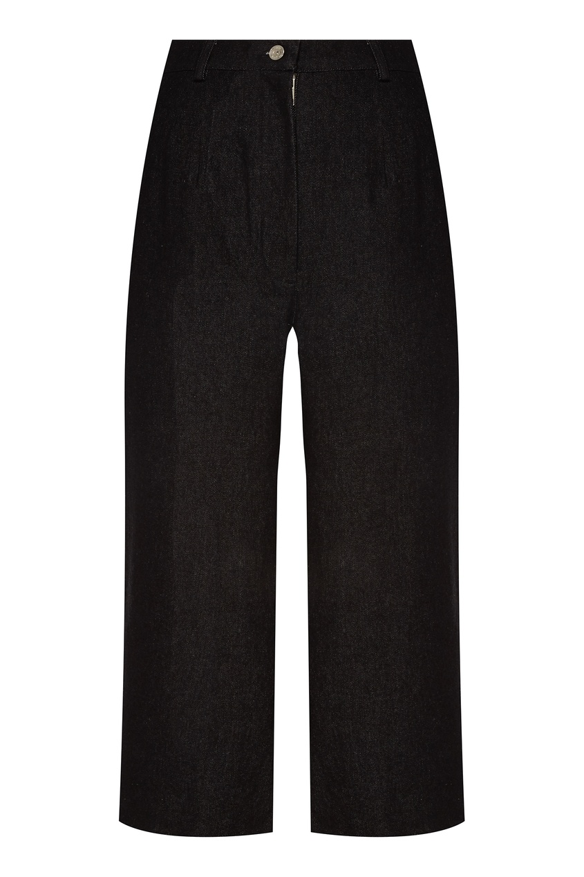 Широкие брюки графитового оттенка ARTEM KRIVDA