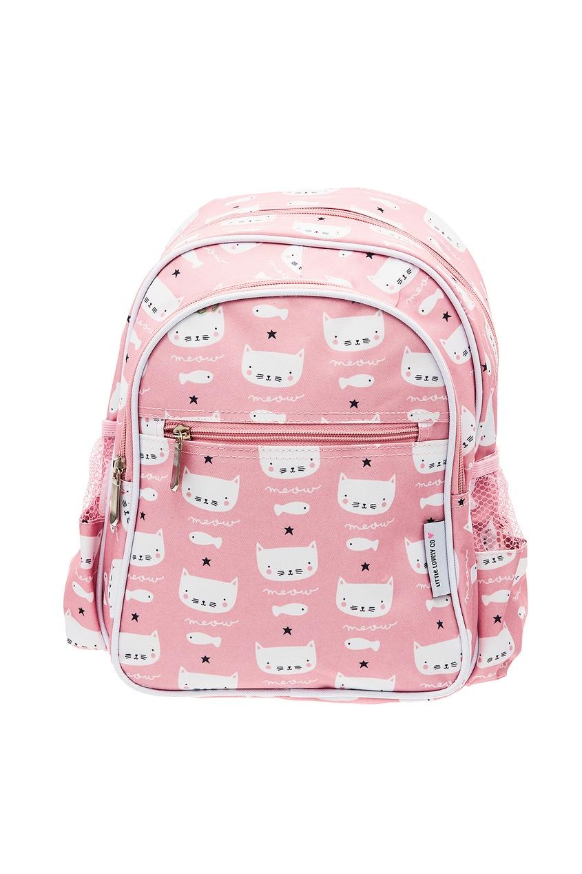 Розовый рюкзак с принтом A Little Lovely Company
