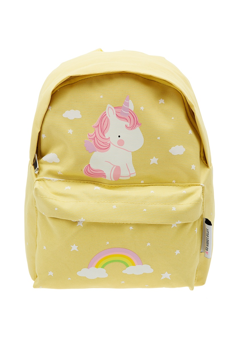 Желтый рюкзак с единорогом A Little Lovely Company