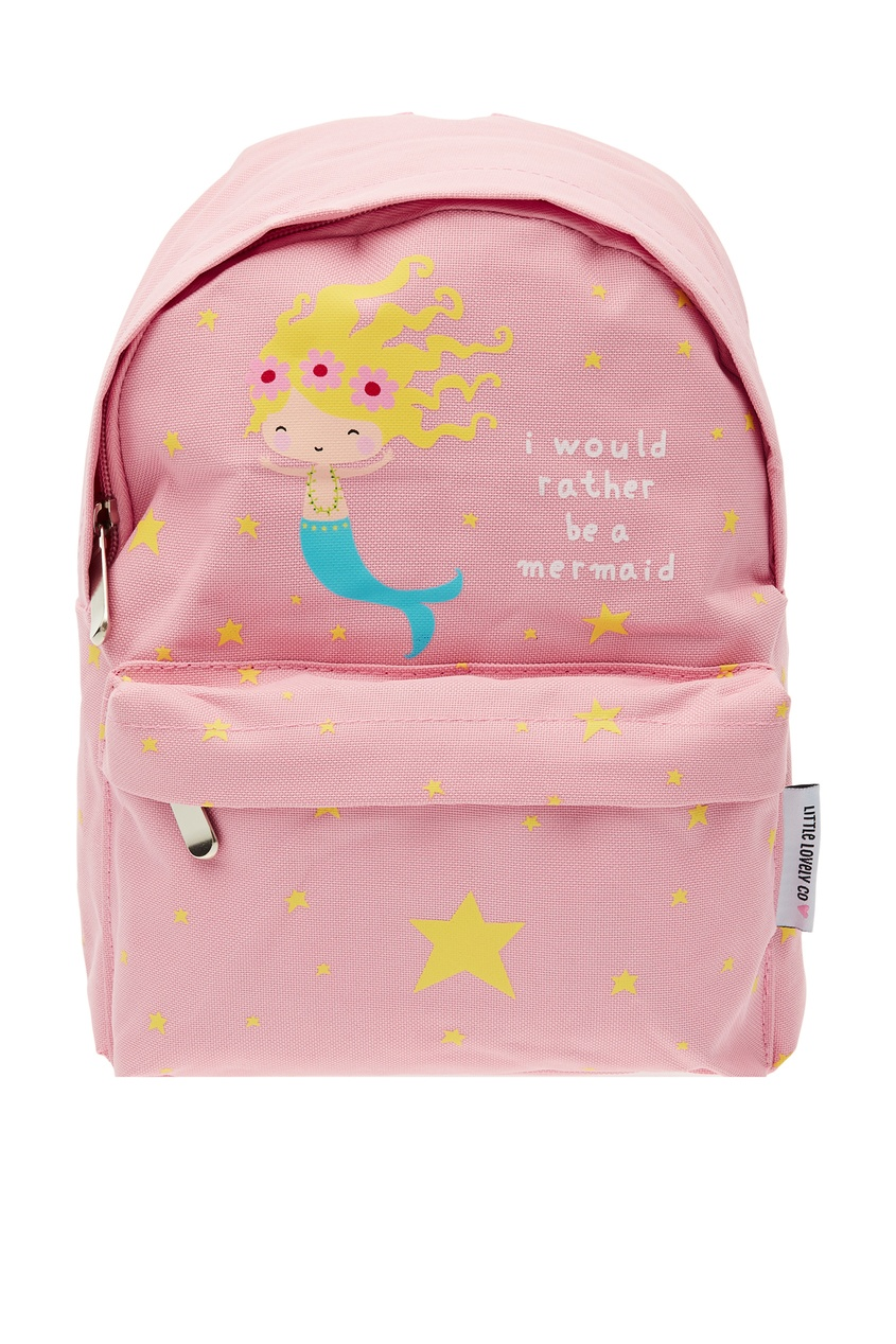 Розовый рюкзак с русалочкой A Little Lovely Company