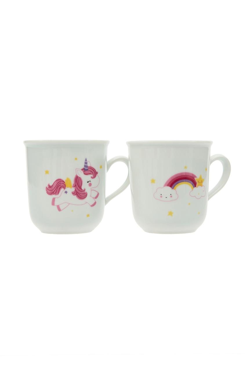 Кружки с цветным рисунком