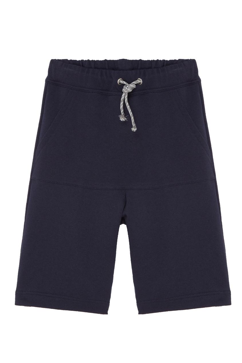 Синие хлопковые шорты IL Gufo