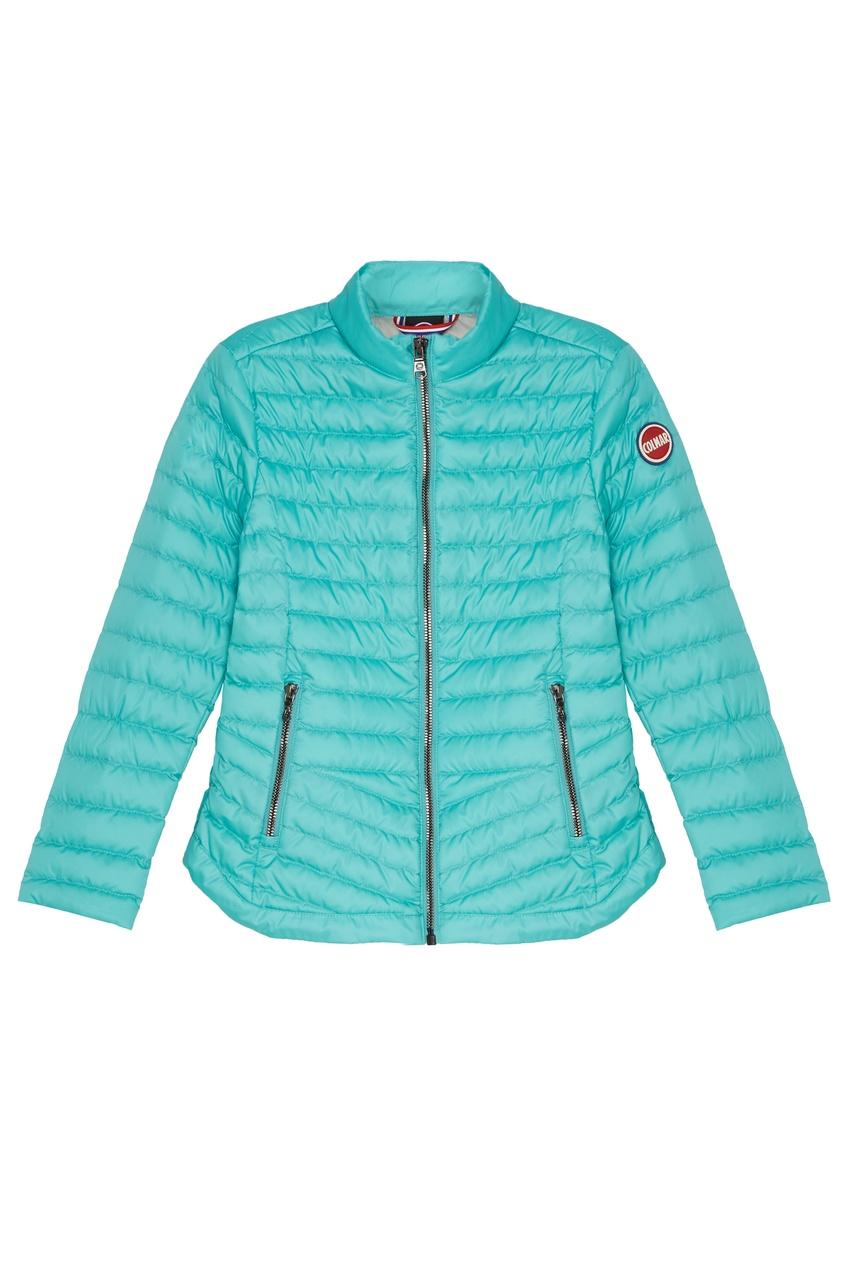 Купить Стеганая бирюзовая куртка от Colmar Kids голубого цвета