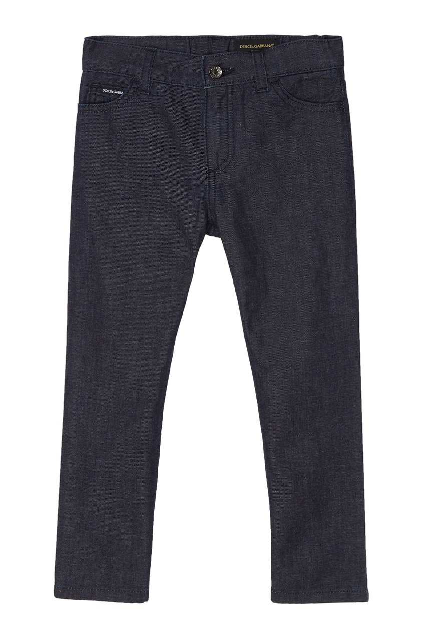 Купить Базовые синие джинсы синего цвета