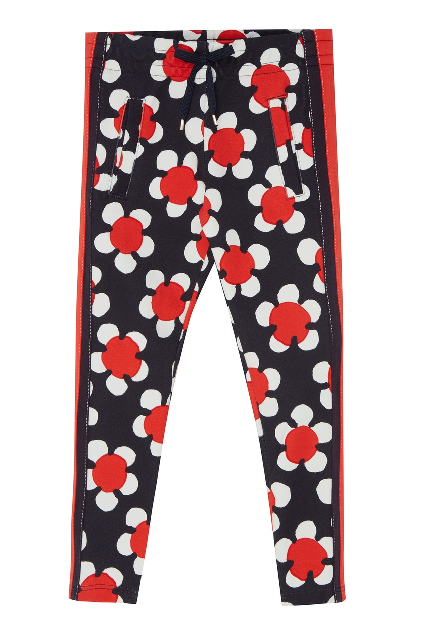 Купить Спортивные брюки с цветочным принтом от Little Marc Jacobs цвет multicolor