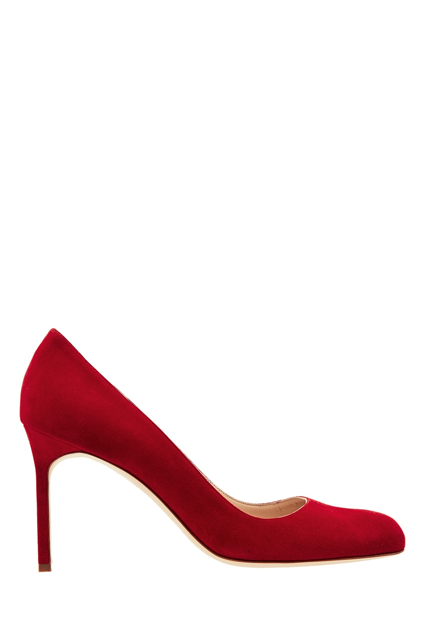 Купить Красные туфли BB от Manolo Blahnik красного цвета