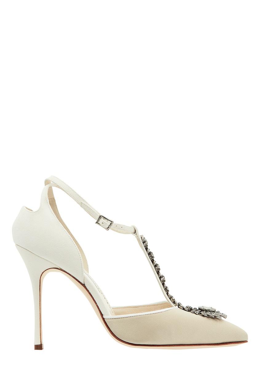 Белые туфли Eridania.