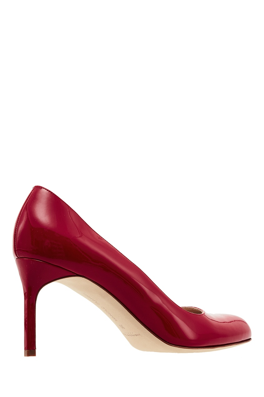 Manolo Blahnik Красные лакированные туфли BBR