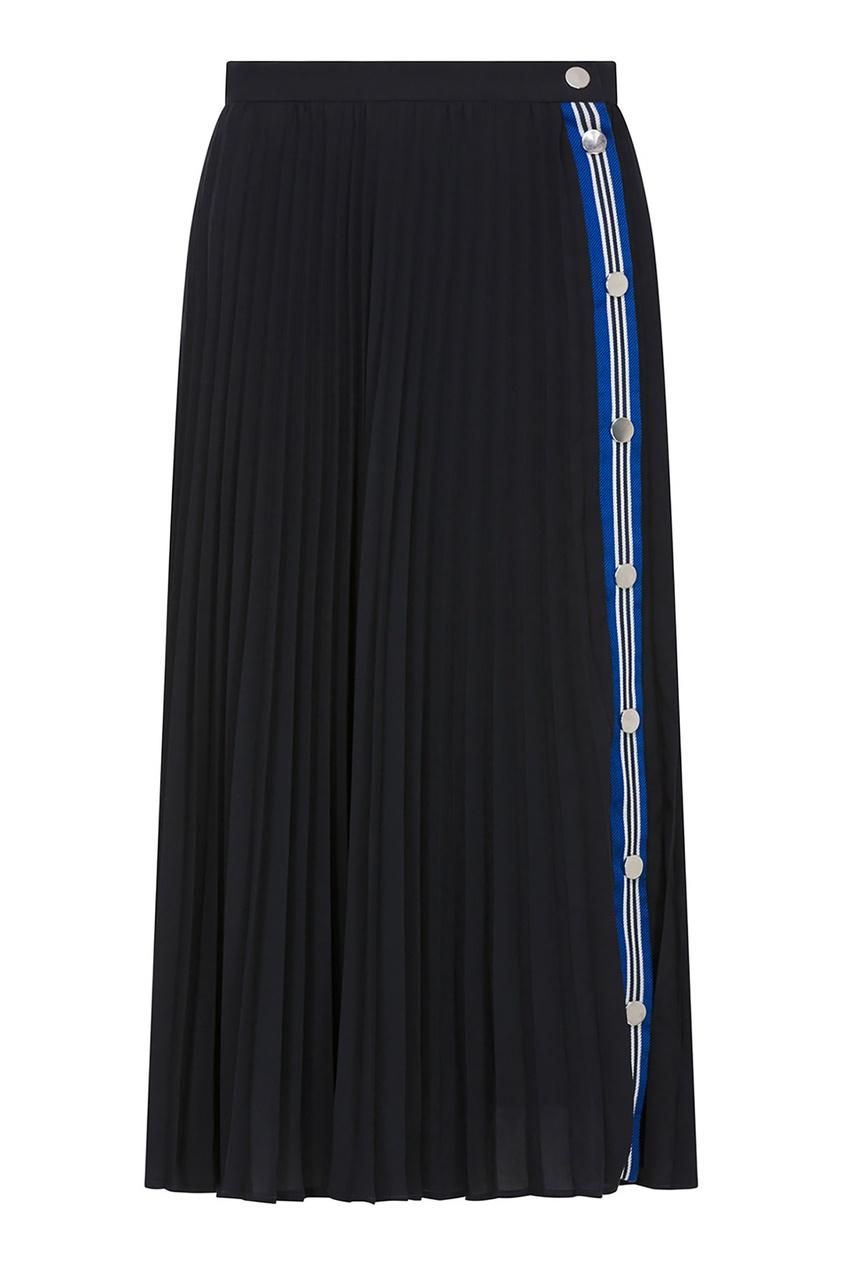 Плиссированная юбка с застежкой Claudie Pierlot
