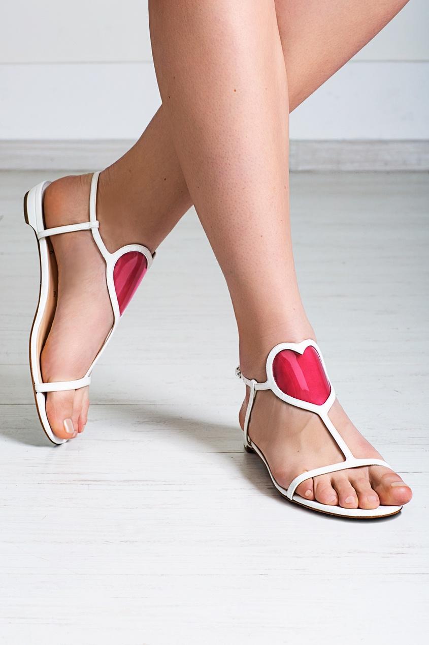 Кожаные сандалии Cora Flat Jazz