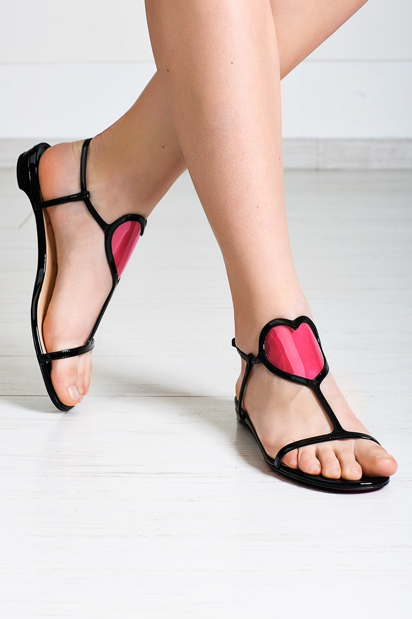 Кожаные сандалии Cora Flat