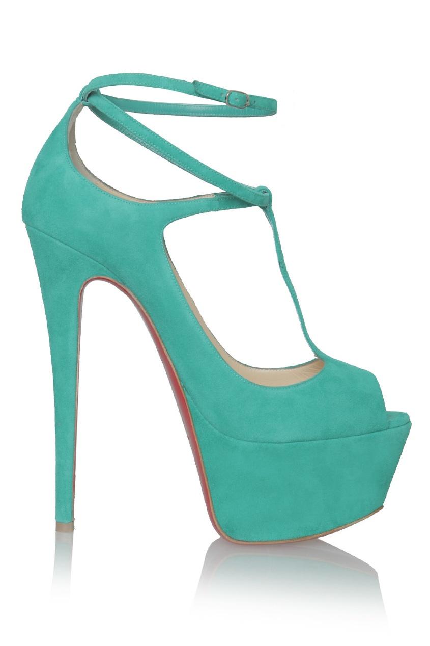 Купить со скидкой Замшевые туфли Talitha 160