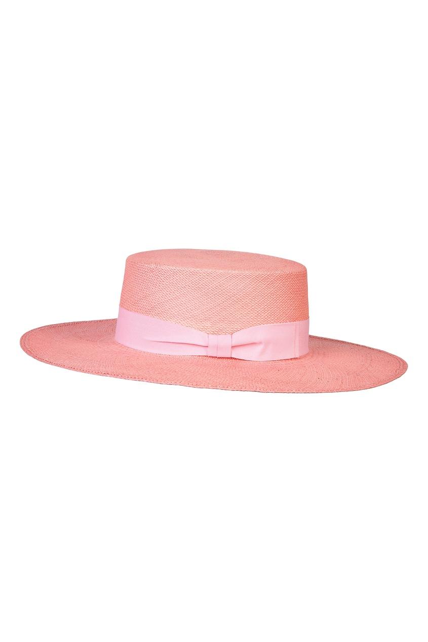 Фото - Розовая шляпа от Canoe розового цвета