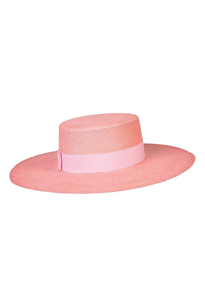 Фото 3 - Розовая шляпа от Canoe розового цвета