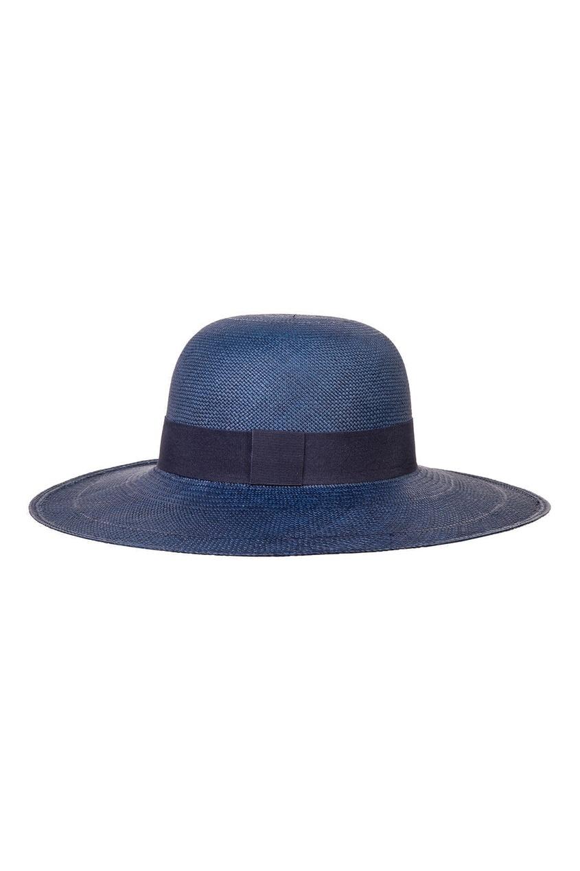 Синяя соломенная шляпа CANOE