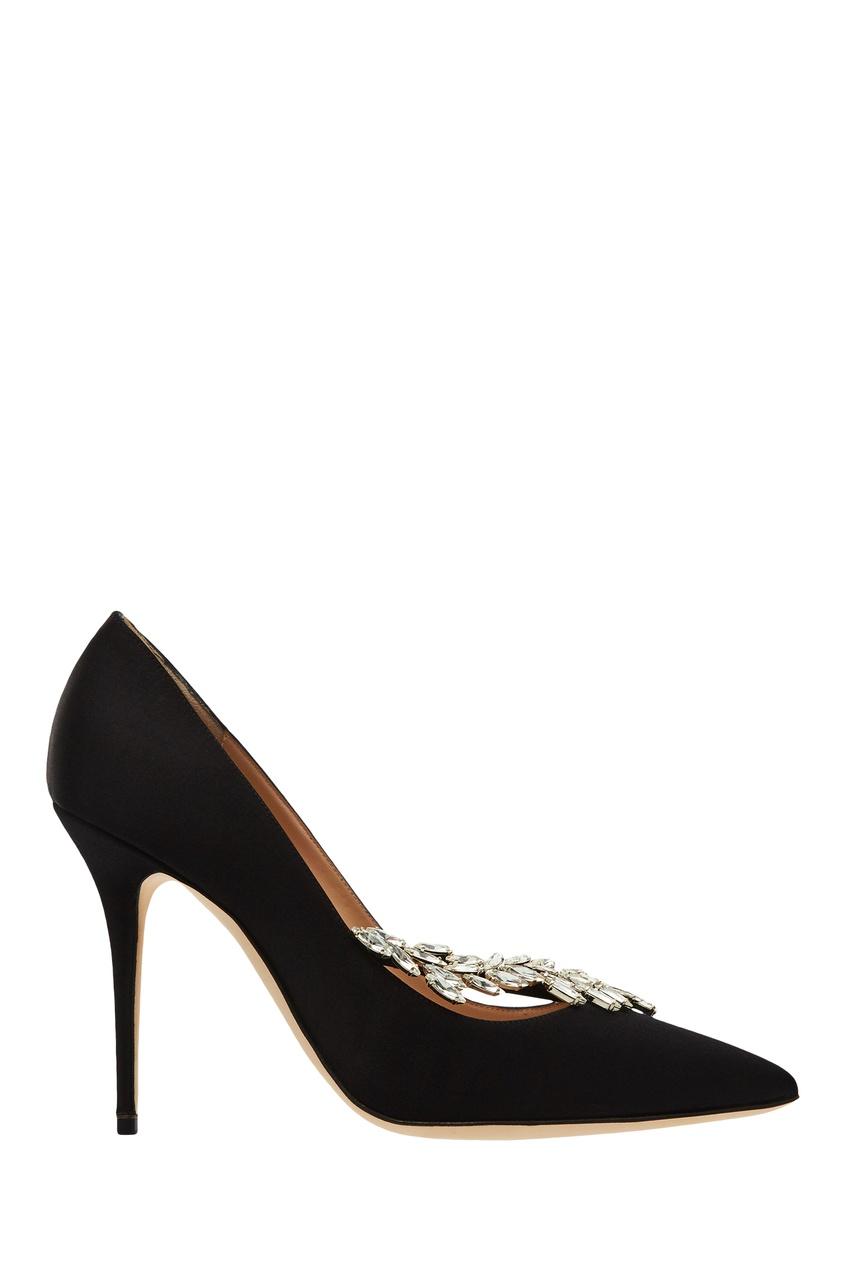 Черные туфли Nadira от Manolo Blahnik
