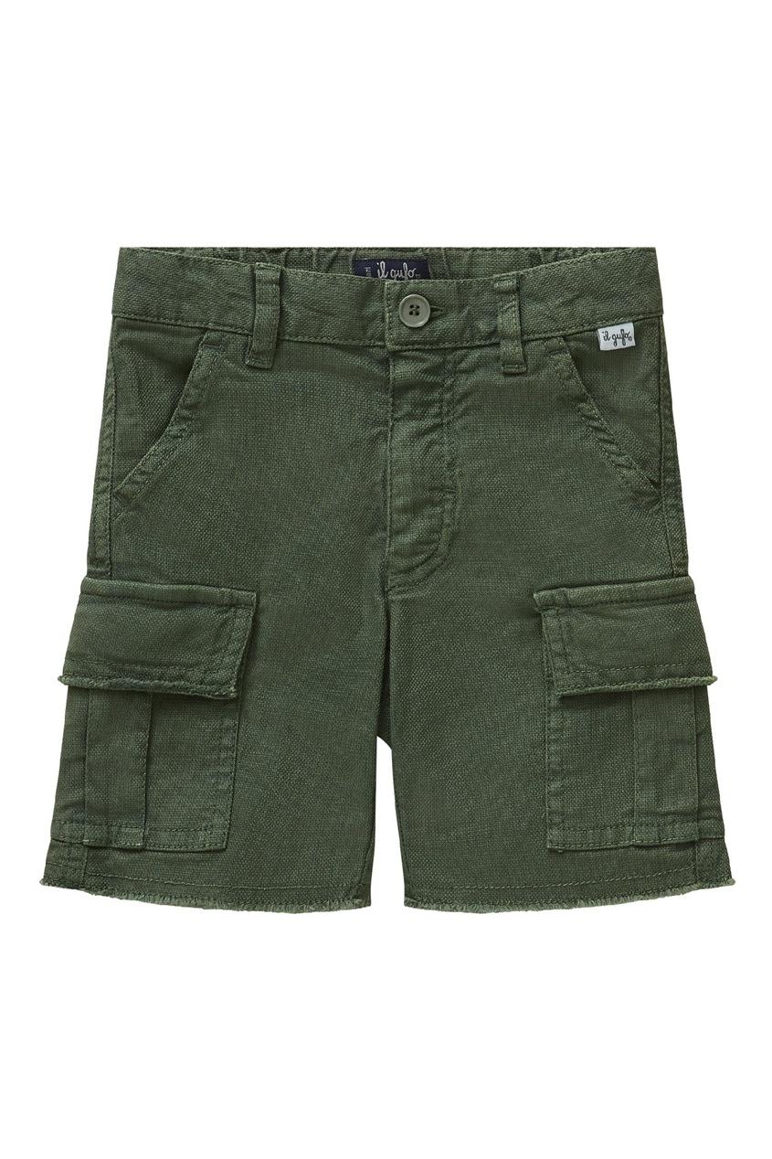 шорты il gufo, зеленые