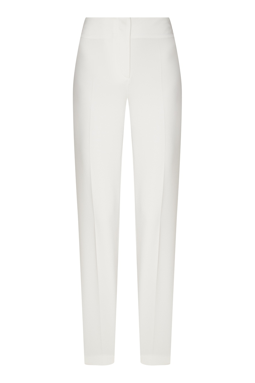 женские брюки terekhov girl, белые