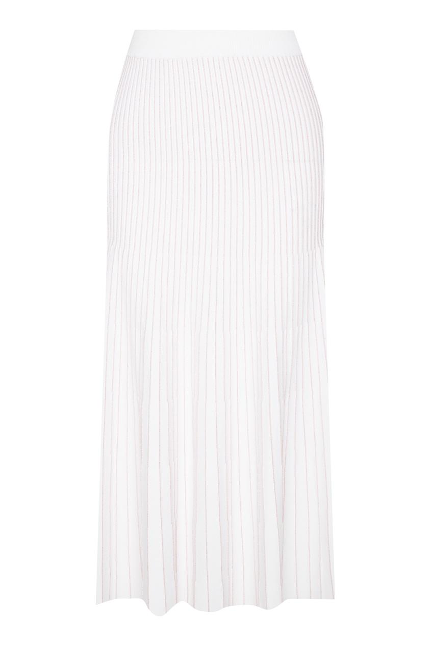 Купить со скидкой Розово-белая юбка со складками Absolute