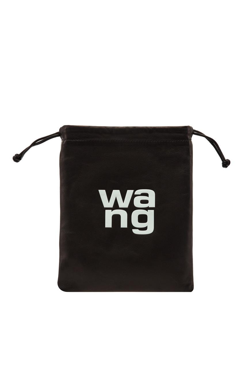 Купить со скидкой Кожаная мини-сумка с логотипом
