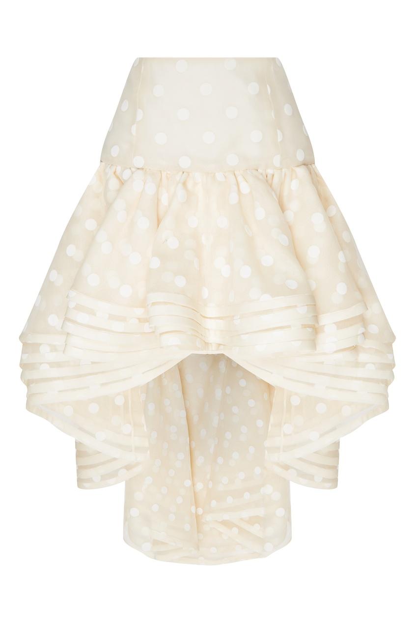 женская юбка marc jacobs, белая