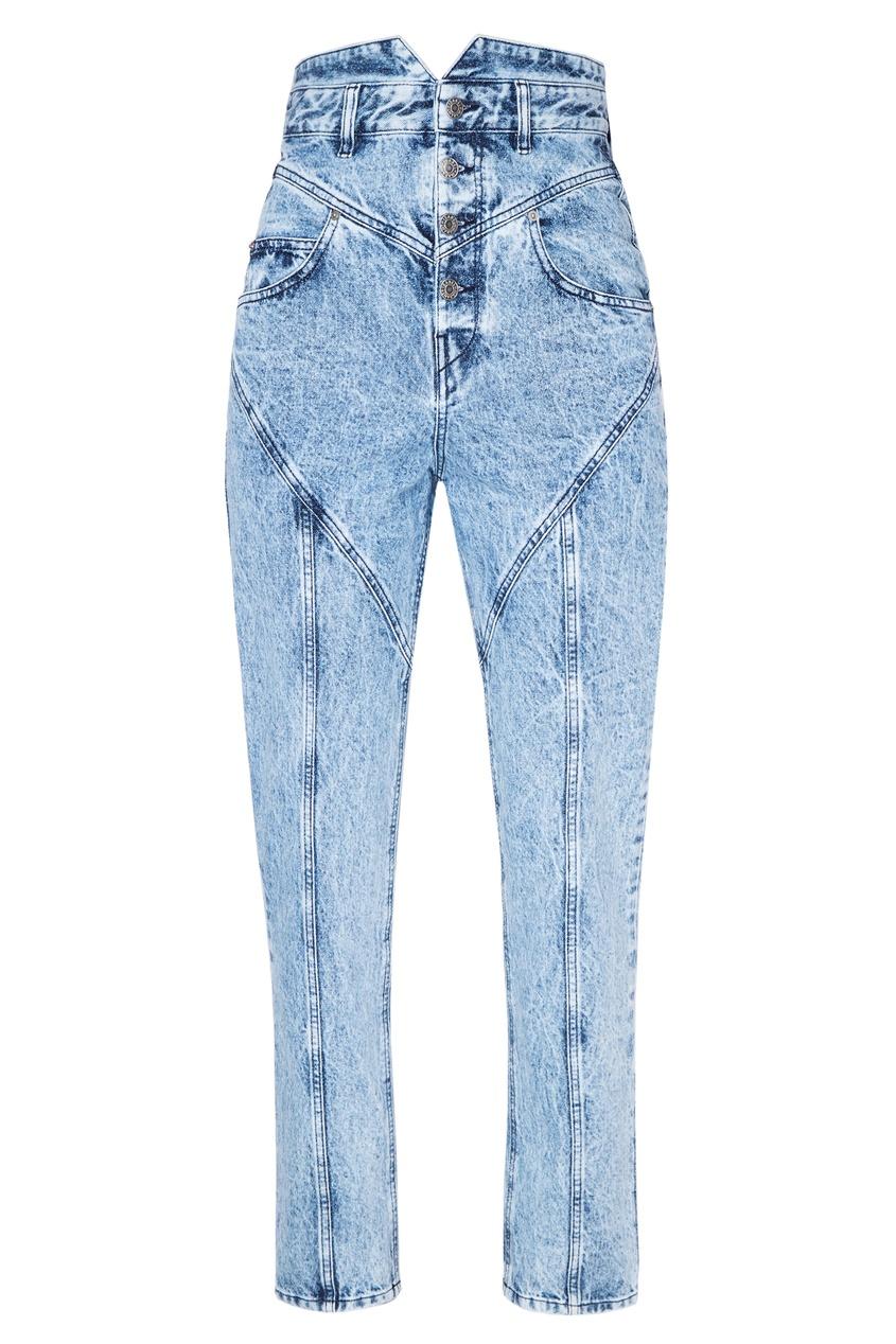 женские джинсы isabel marant, голубые