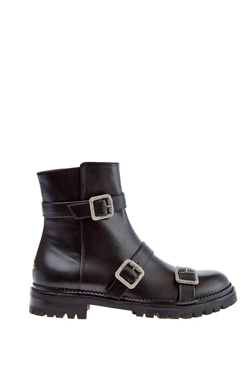 Черные ботинки Hank