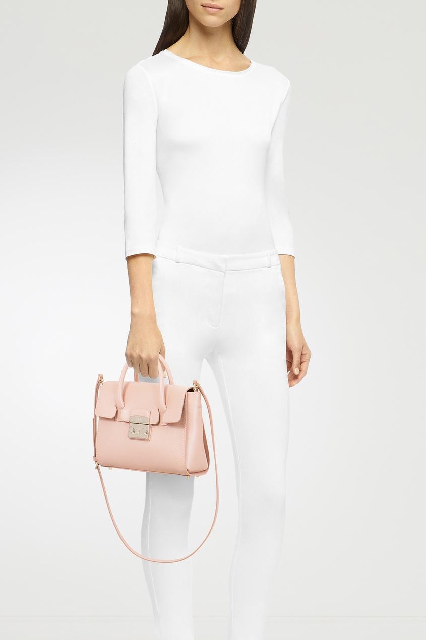 Фото 2 - Розовая сумка Metropolis розового цвета