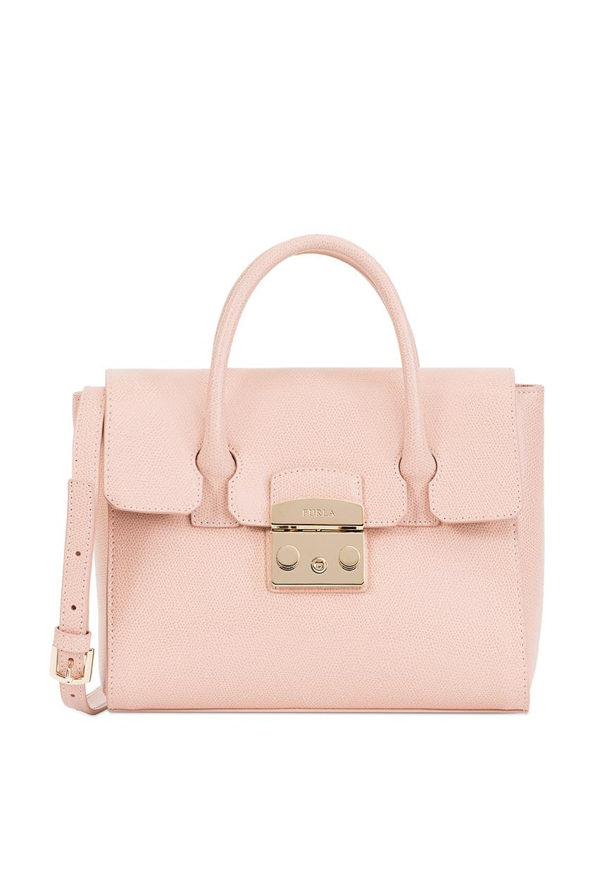 Фото - Розовая сумка Metropolis розового цвета