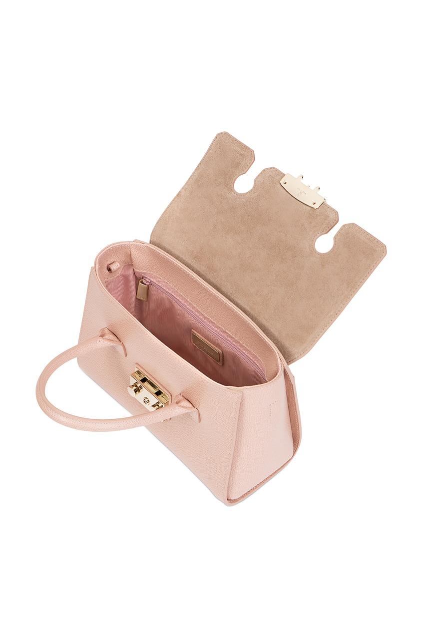Фото 4 - Розовая сумка Metropolis розового цвета