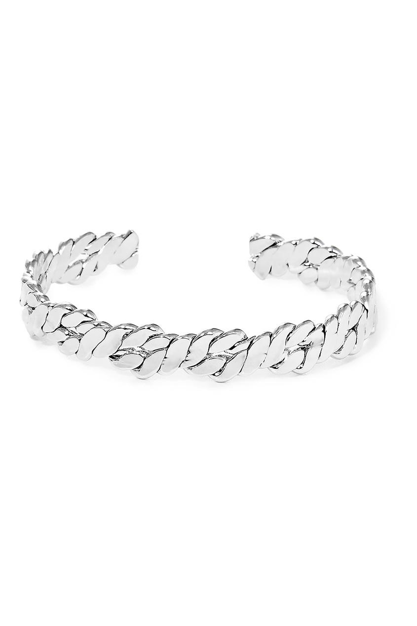 Фото - Серебристый браслет-веревка от Lisa Smith серебрянного цвета