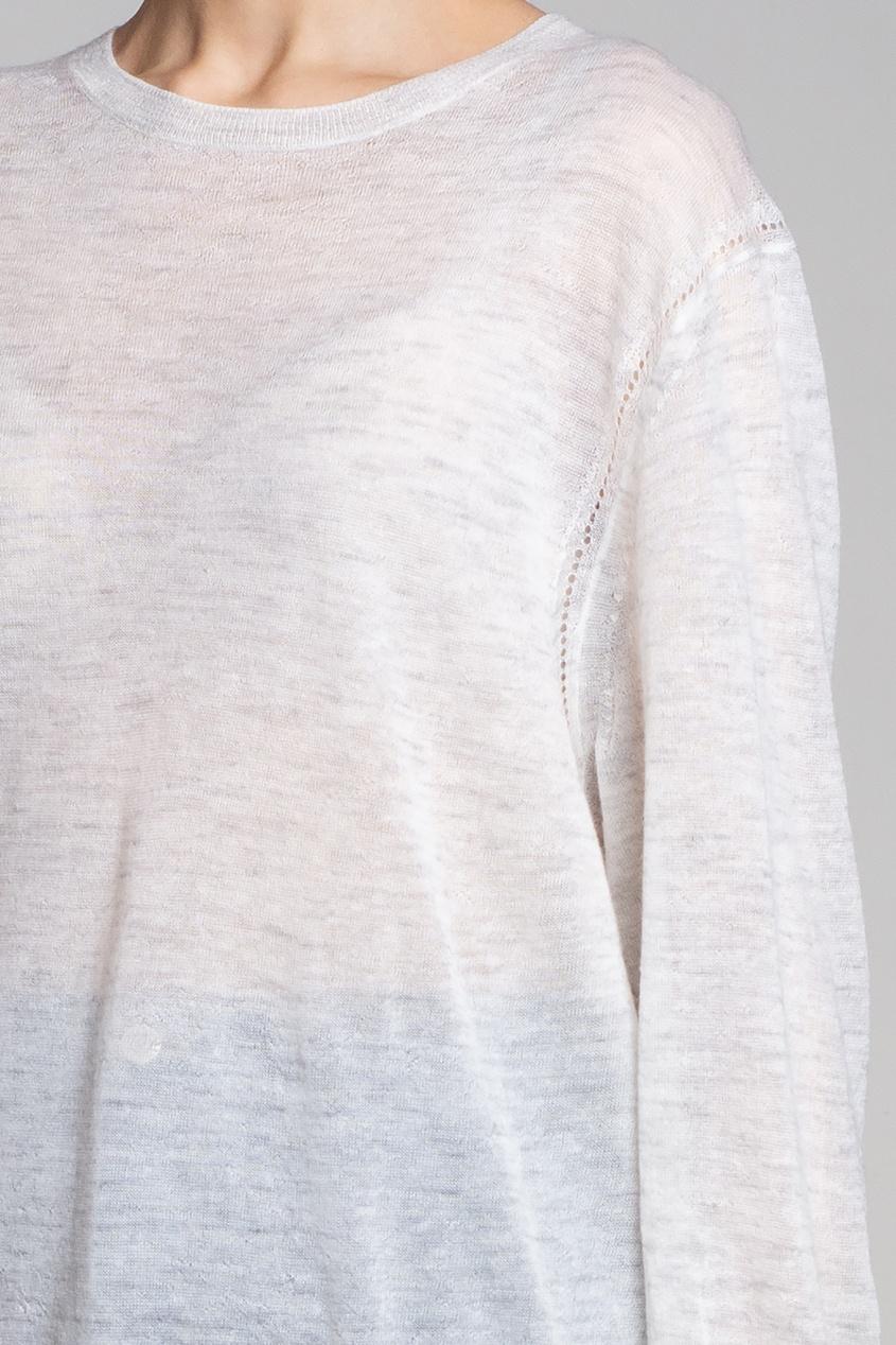 Фото 6 - Серый джемпер от Acne Studios серого цвета