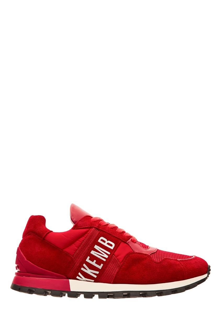 мужские кроссовки dirk bikkembergs, красные