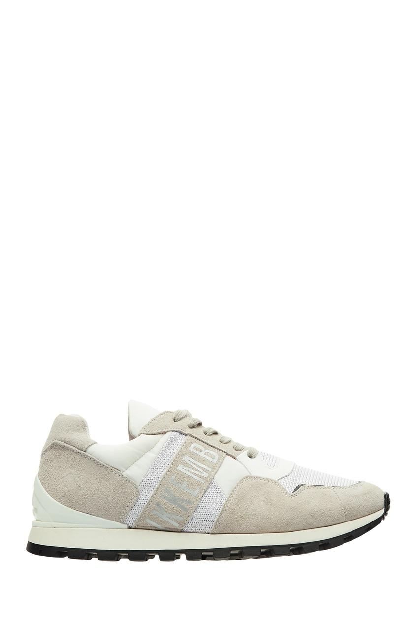 мужские кроссовки dirk bikkembergs, белые