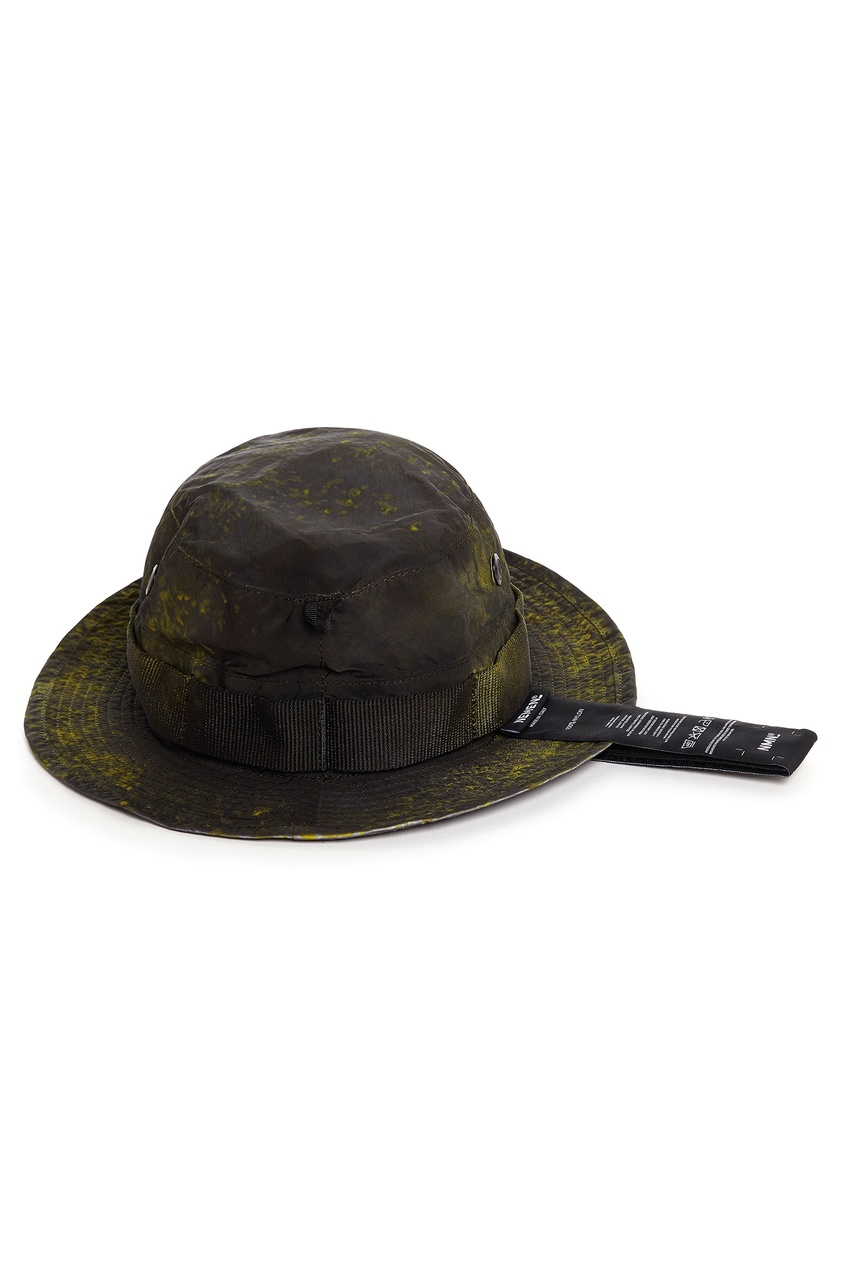 Текстильная шляпа с лентами