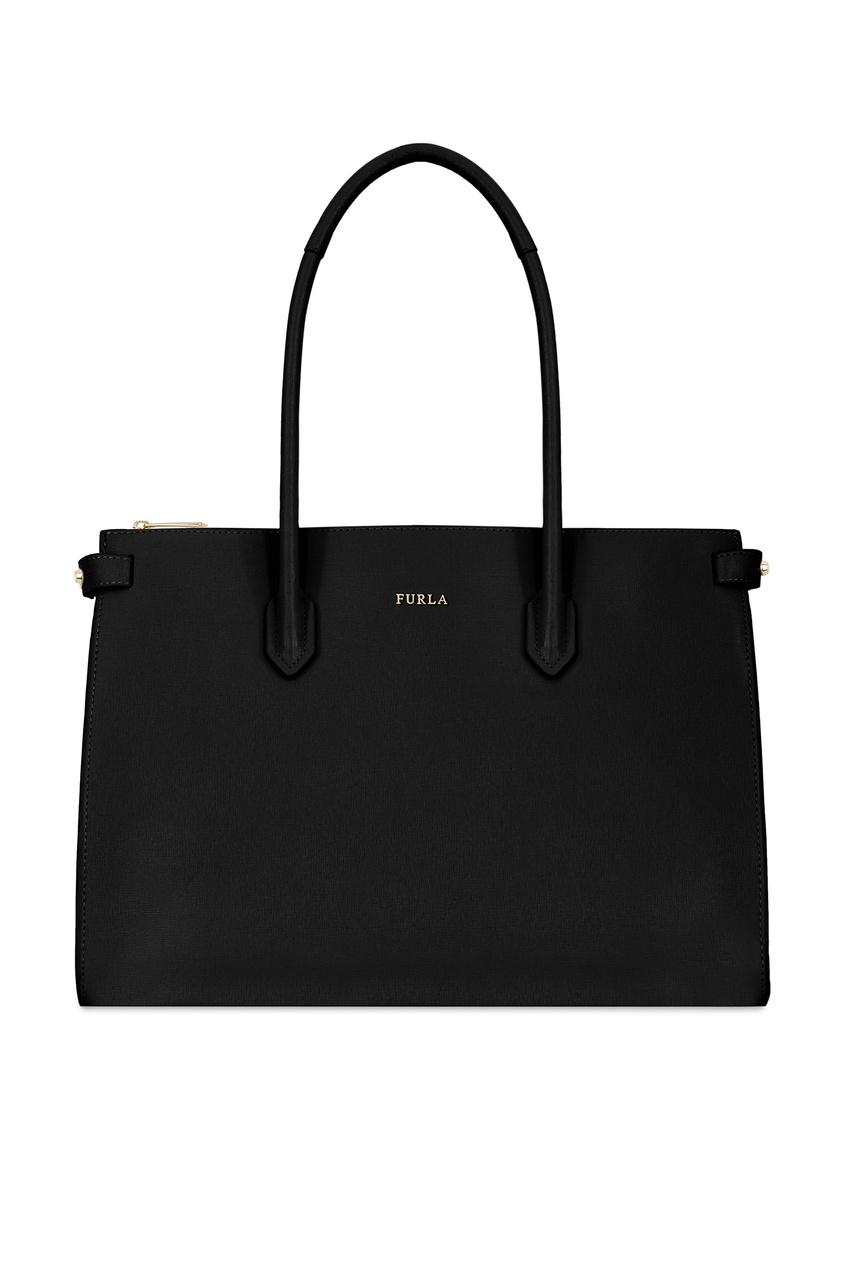 Купить Черная сумка Pin черного цвета
