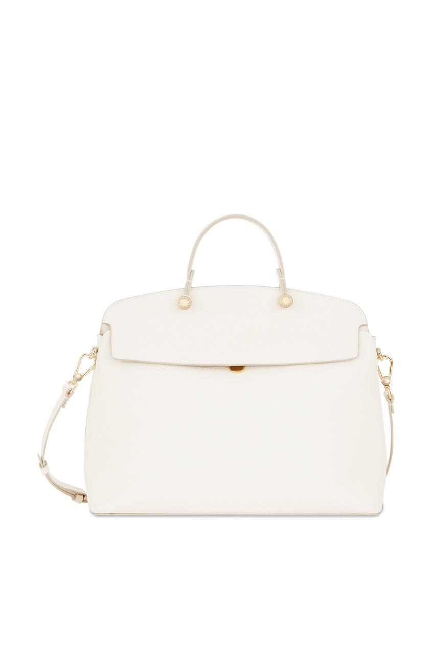 Купить Белая сумка My Piper белого цвета