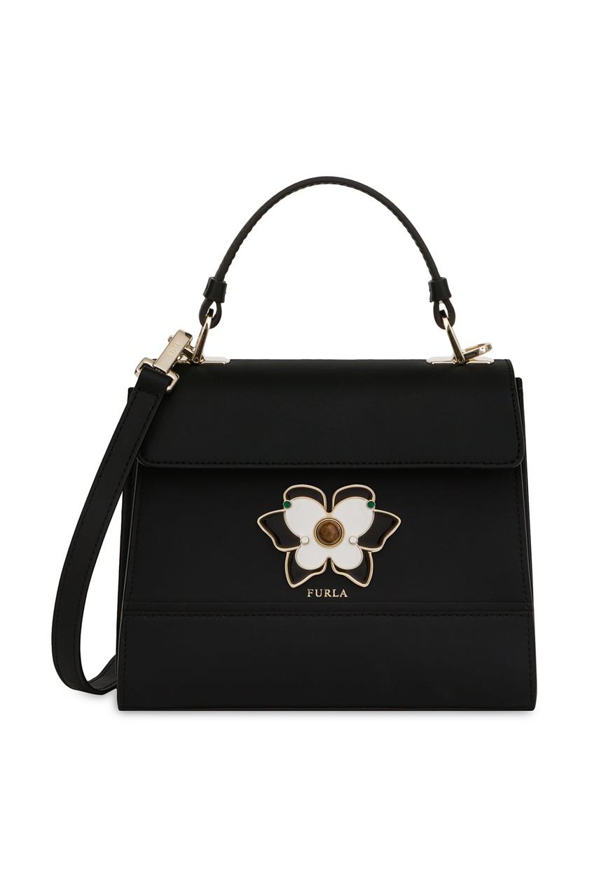 Купить Черная сумка Mughetto черного цвета