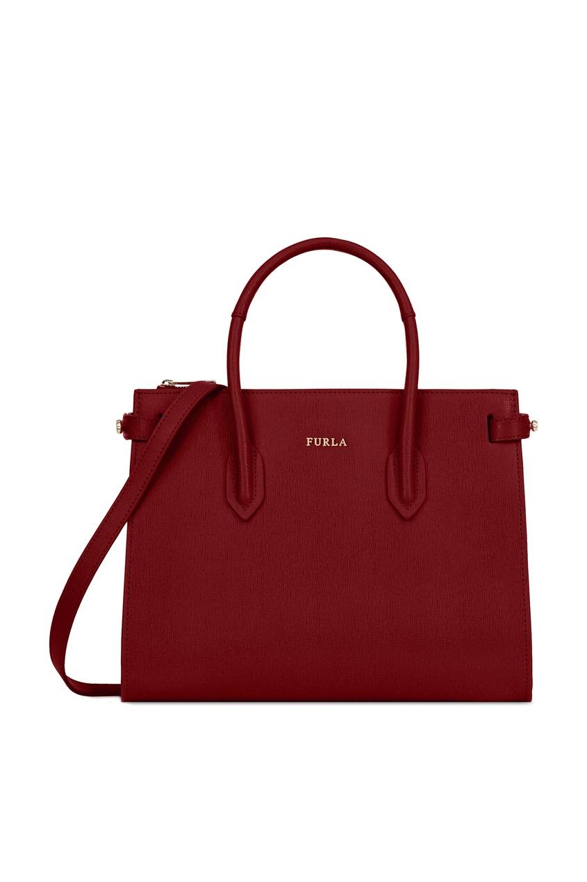 Фото - Бордовая сумка Pin бордового цвета