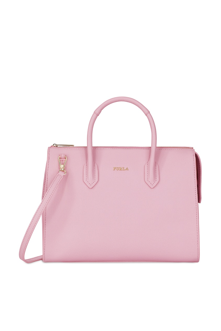 Купить Светло-розовая сумка Pin розового цвета