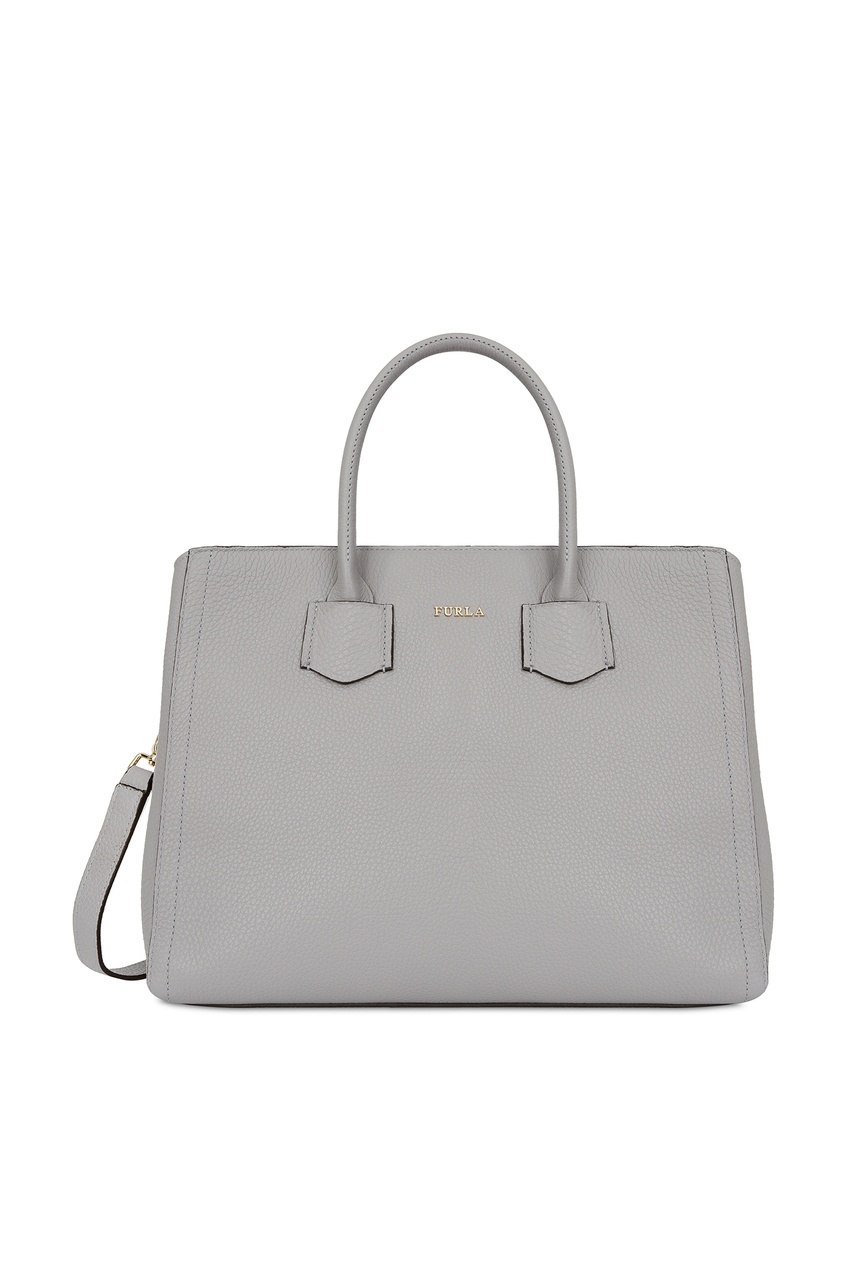 Купить Серая сумка Alba серого цвета